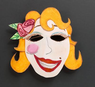 Máscara de expresiones para manialidades