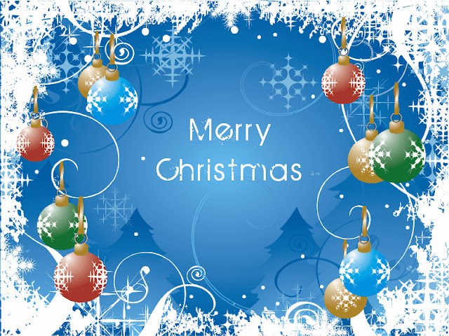 merry christmas wallpaper with message