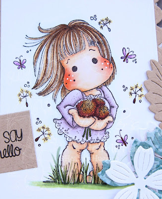 Heather's Hobbie Haven - Dandelion Tilda Card Kit