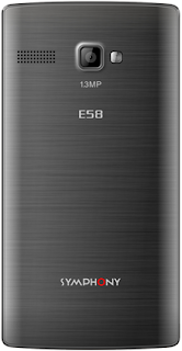Symphony E58 Mobile Phone Price & Full Specifications In Bangladesh