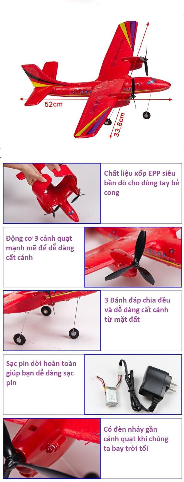 Máy bay cánh bằng SCN005_3