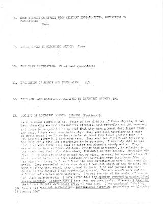 UFOs Over Saigon - Spot Report (2) 4-17-1967