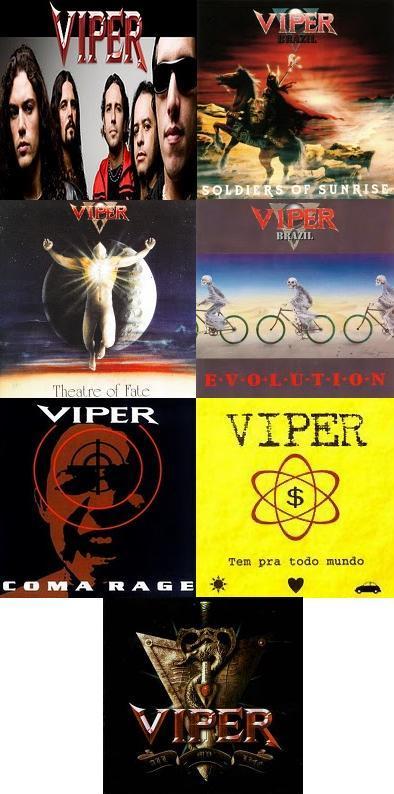 viper discografia