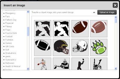Choose Football Clip Art
