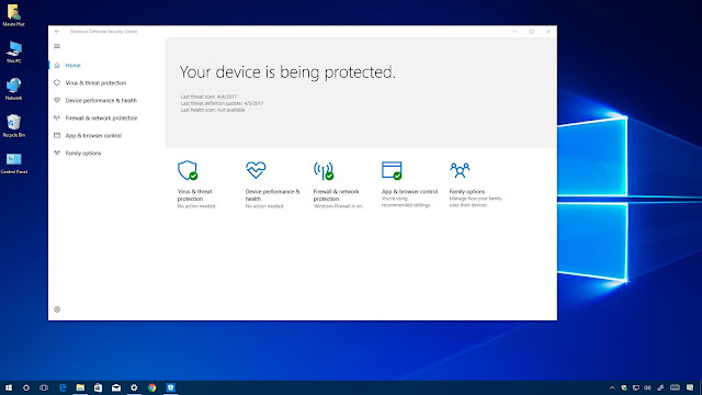 Windows 10 Home Creators Update