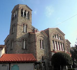 ο ναός της αγίας Σκέπης στην Έδεσσα