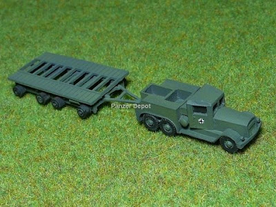 Kaelble Tank Transporter