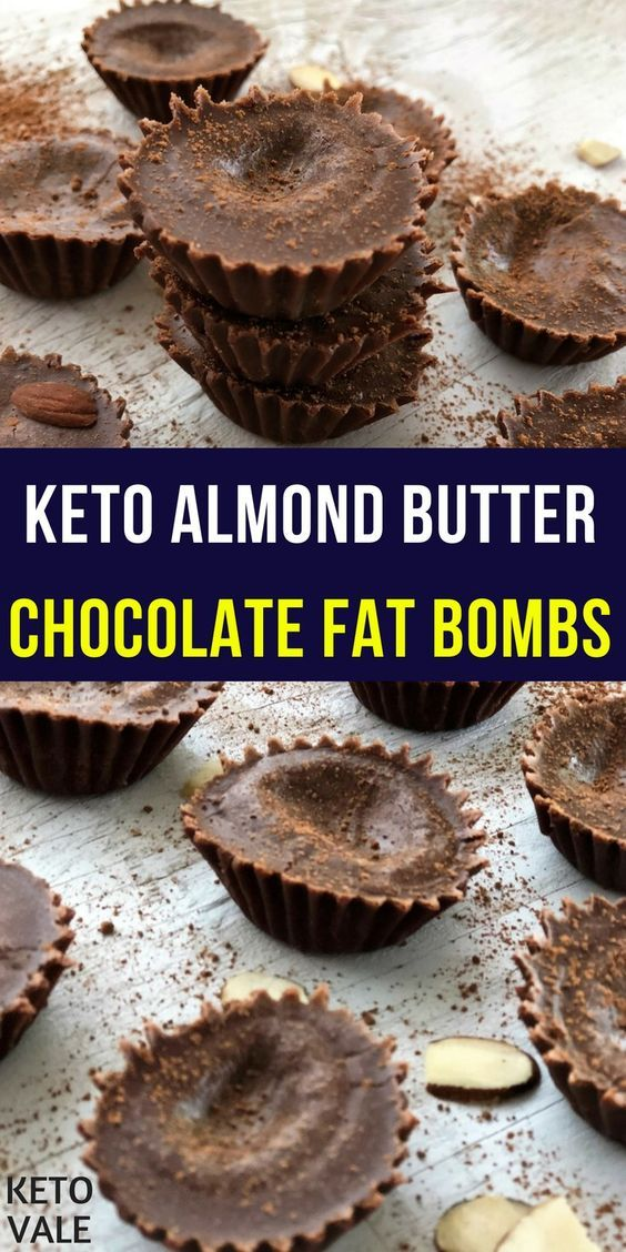 Keto Almond Butter Cocoa Fat Bombs