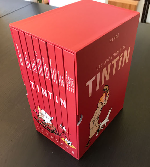 Las aventuras de Tintín Colección Completa 2