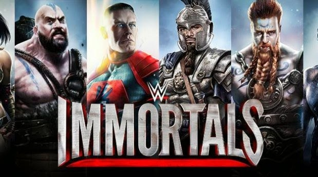 WWE IMMORTALS ANDROID APK DATA