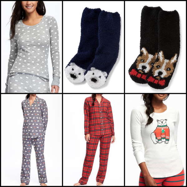 bbloggers, bbloggersca, canadian beauty bloggers, fashion, fbloggers, psbloggers, plus size, haul, old navy, fall, winter, 2016, polar bears, stripes, plaid, pajamas