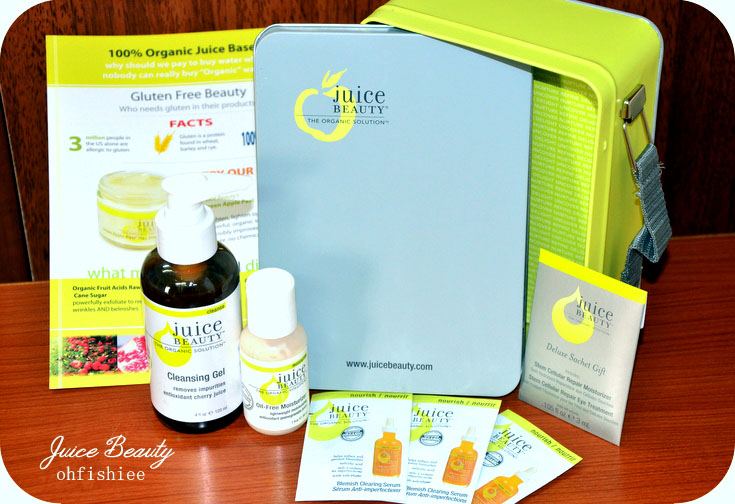 oh{FISH}iee: Juice Beauty: 5-Step Organic Solution to