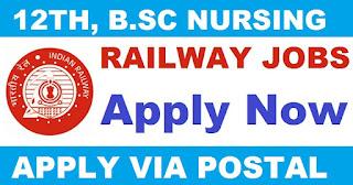 Northern Railway Recruitment 2017 – Staff Nurse & Pharmacist Posts