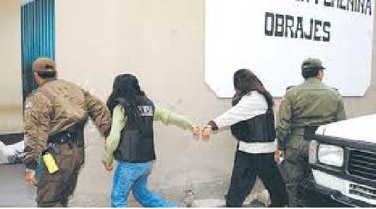 Mujeres en las cárceles bolivianas