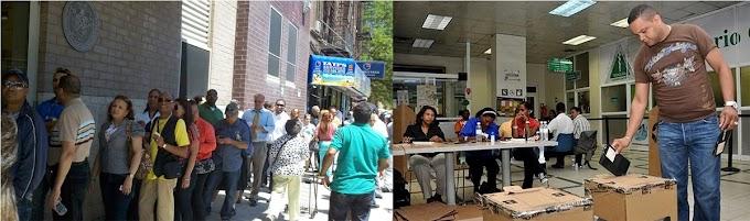225.311 dominicanos registrados para votar en  424 colegios de la circunscripción 1 de EEUU