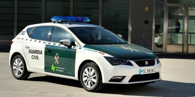 La Guardia Civil irá a todo gas: ¡Un SEAT León 1.4 TSI bicombustible!