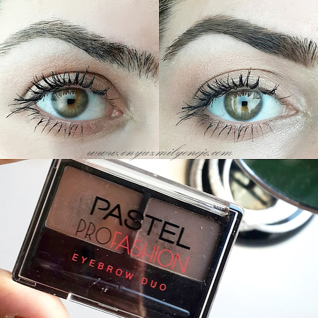 Pastel Profashion Eyebrow Duo uygulama