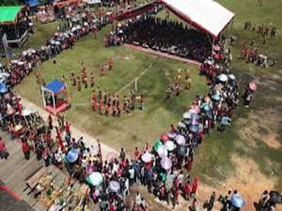 Gambar Upacara Naik Dango Ritual Adat Masyarakat Dayak Kendayan