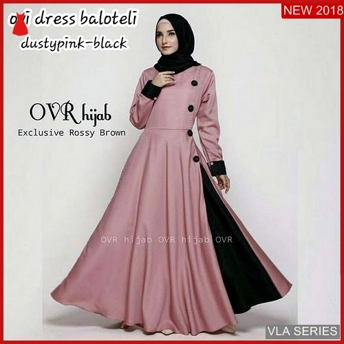 VLA047O96 Model Dress Ovi Bl Murah BMGShop