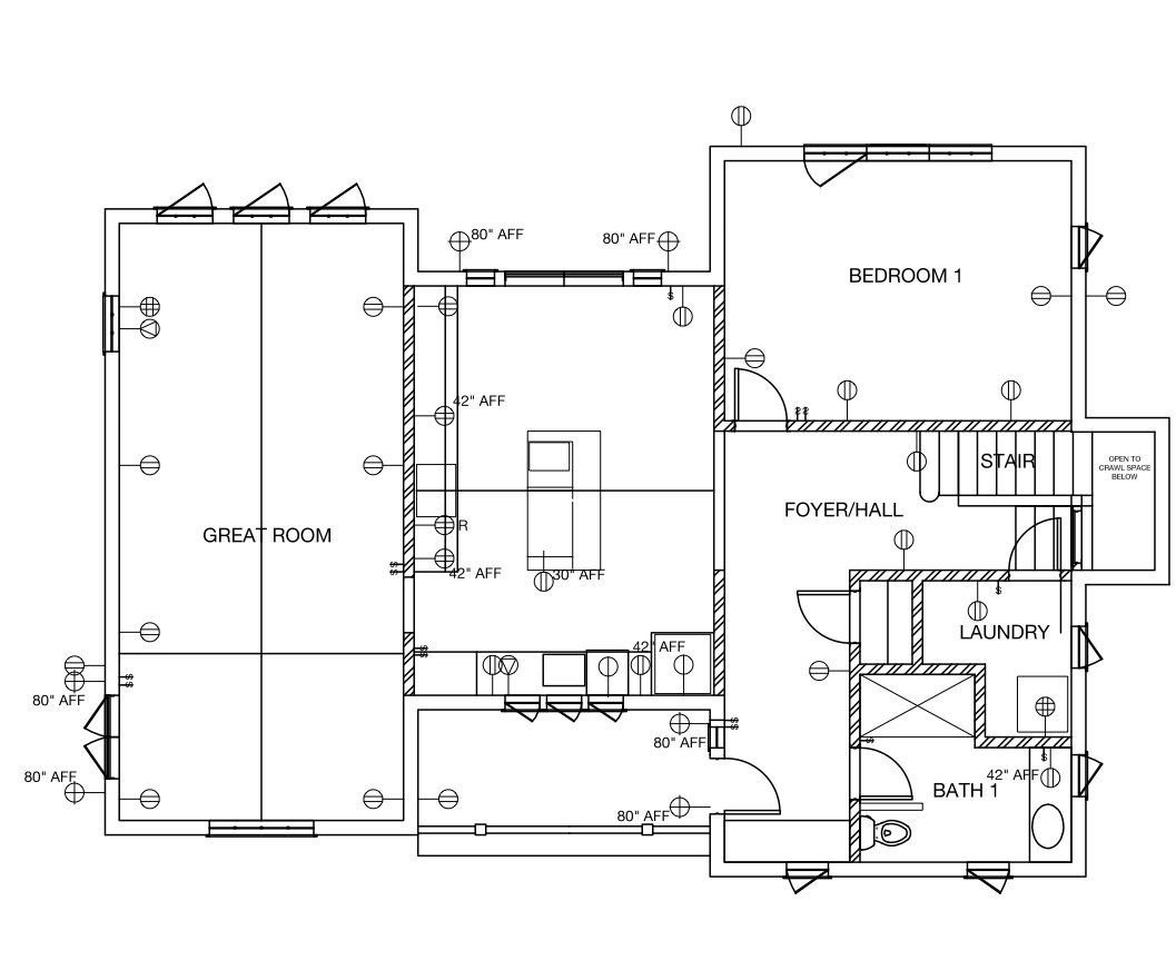 Floor Plan Example Electrical House Building Plans Online ...