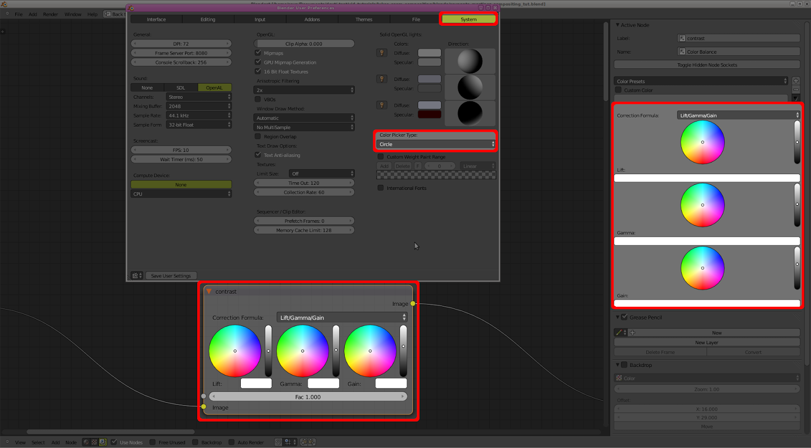 blender color picker