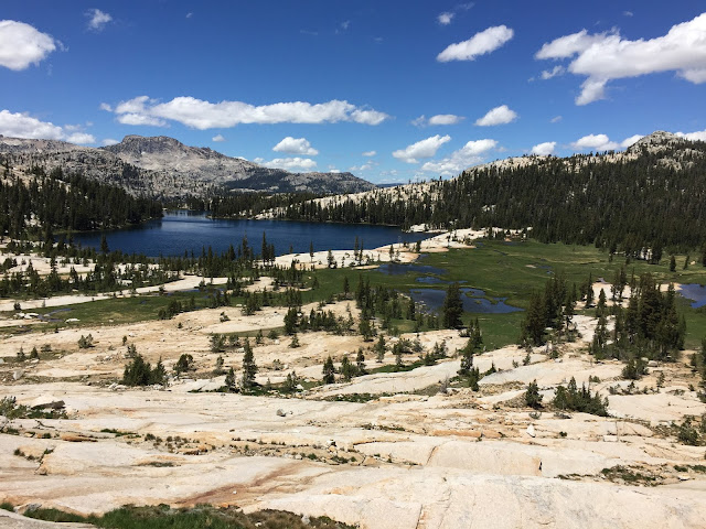 Cathedral Lakes in Yosemite National Park - spectacular scenery. The hike there is long but well worth it.