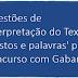 Questões de Interpretação do Texto 'Gestos e palavras' para Concurso com Gabarito