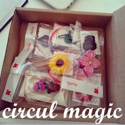martisoare flori quilling circul magic