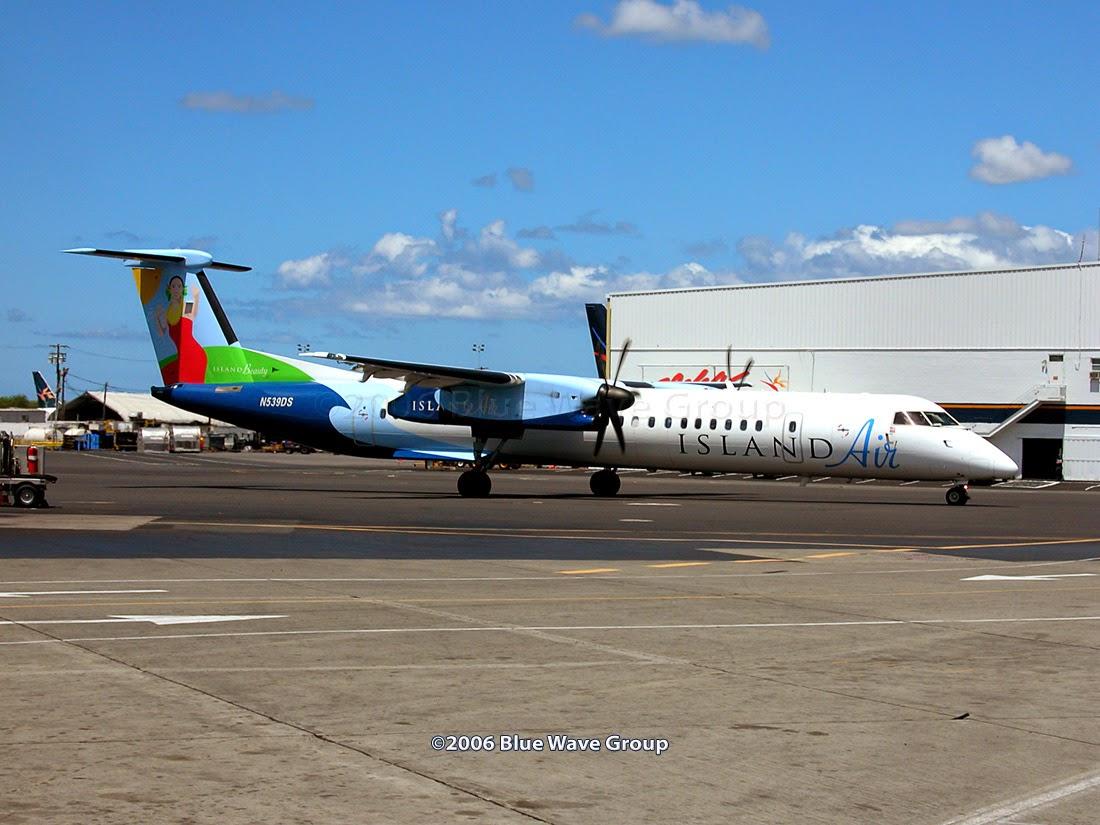 HNL RareBirds: Island Air Orders Q400 NextGens