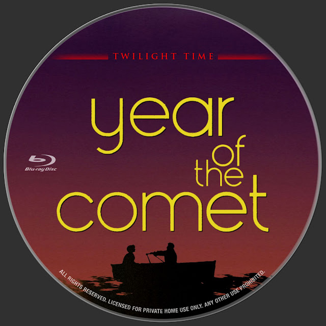 Year of the Comet Bluray Label