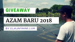 Giveaway azam tahun baru 2018 by elihjapahar.com, kospen, misi kurus, jom sihat,  tips diet, jom kurus