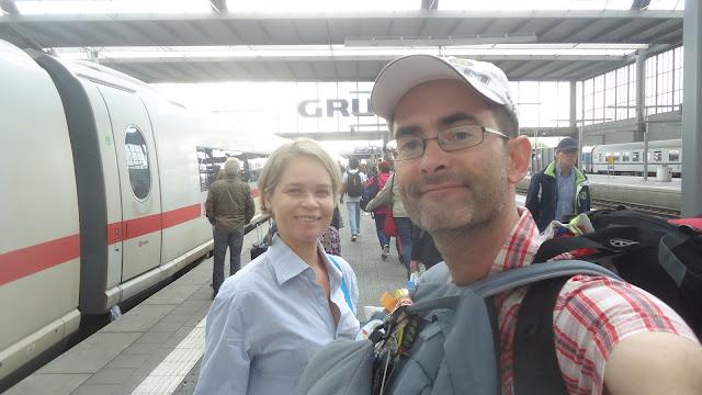 Estação de trem de Munique Alemanha