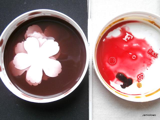 przygotowanie farby do barwienia płatków