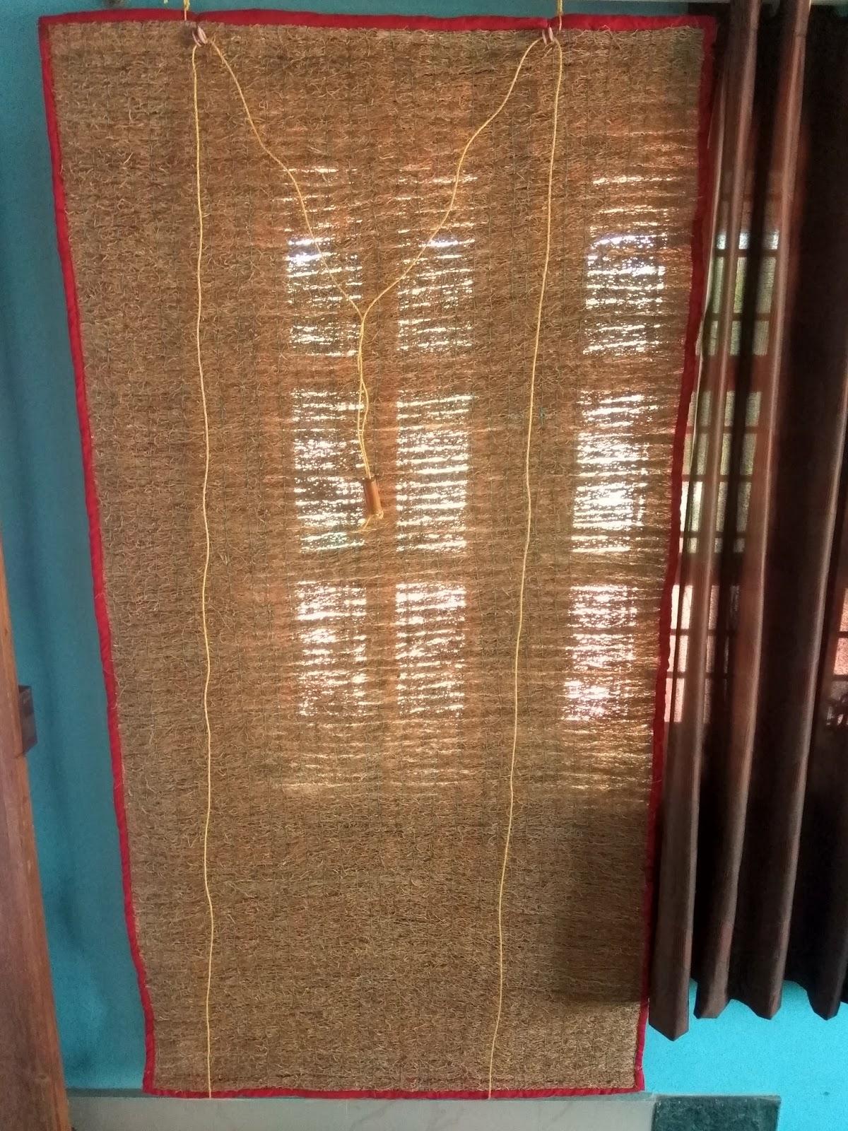 Vetiver Window Curtains Usheera Industries