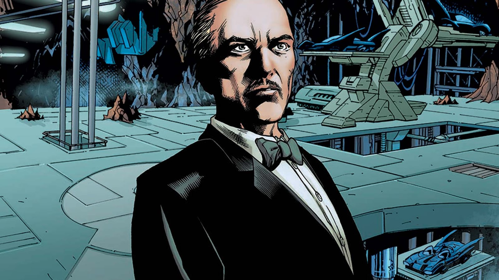 Images: Epix Reveals First Look At Alfred in Pennyworth Series