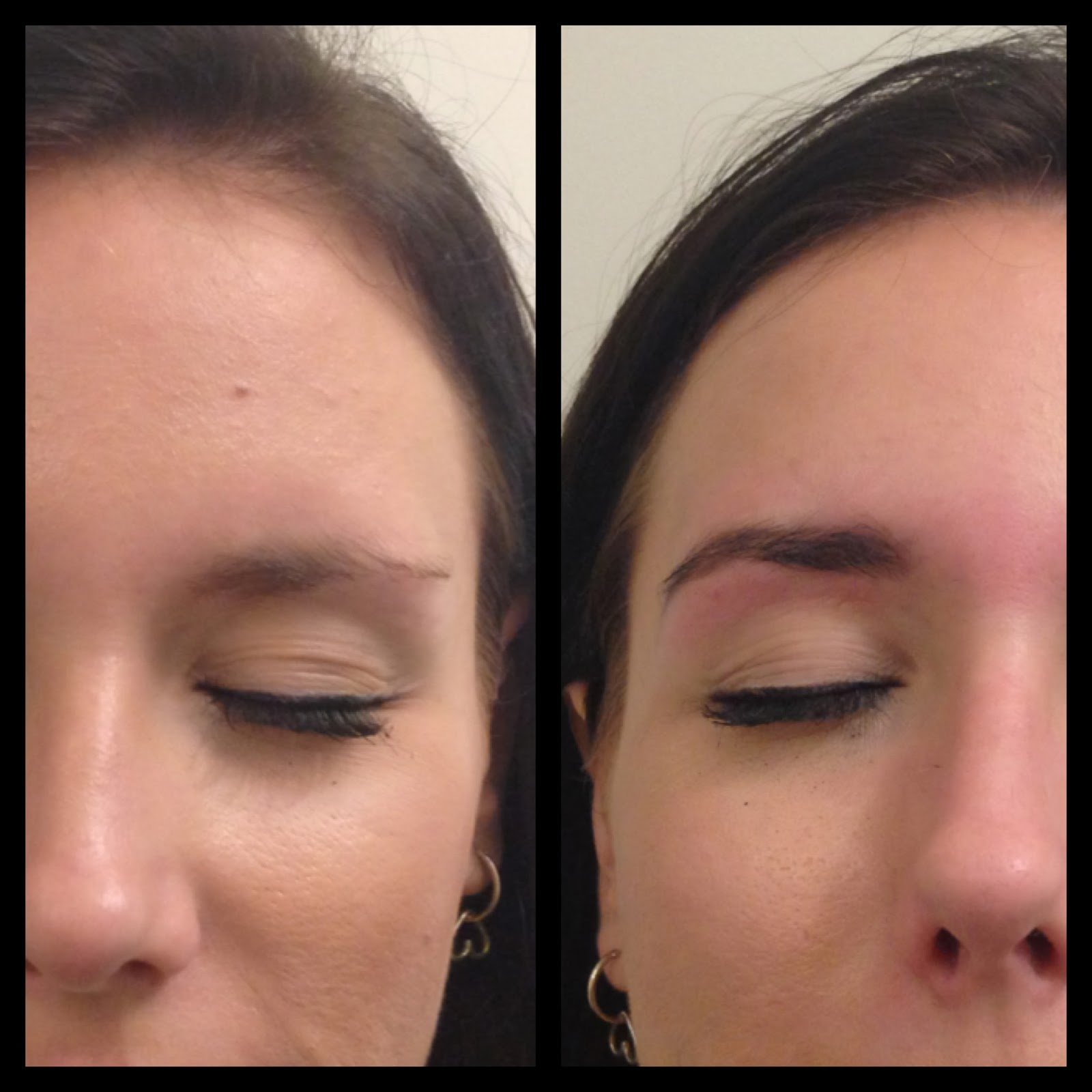 Vicky Brown Hair and Make Up: Eyebrow Sculpting Before and ...