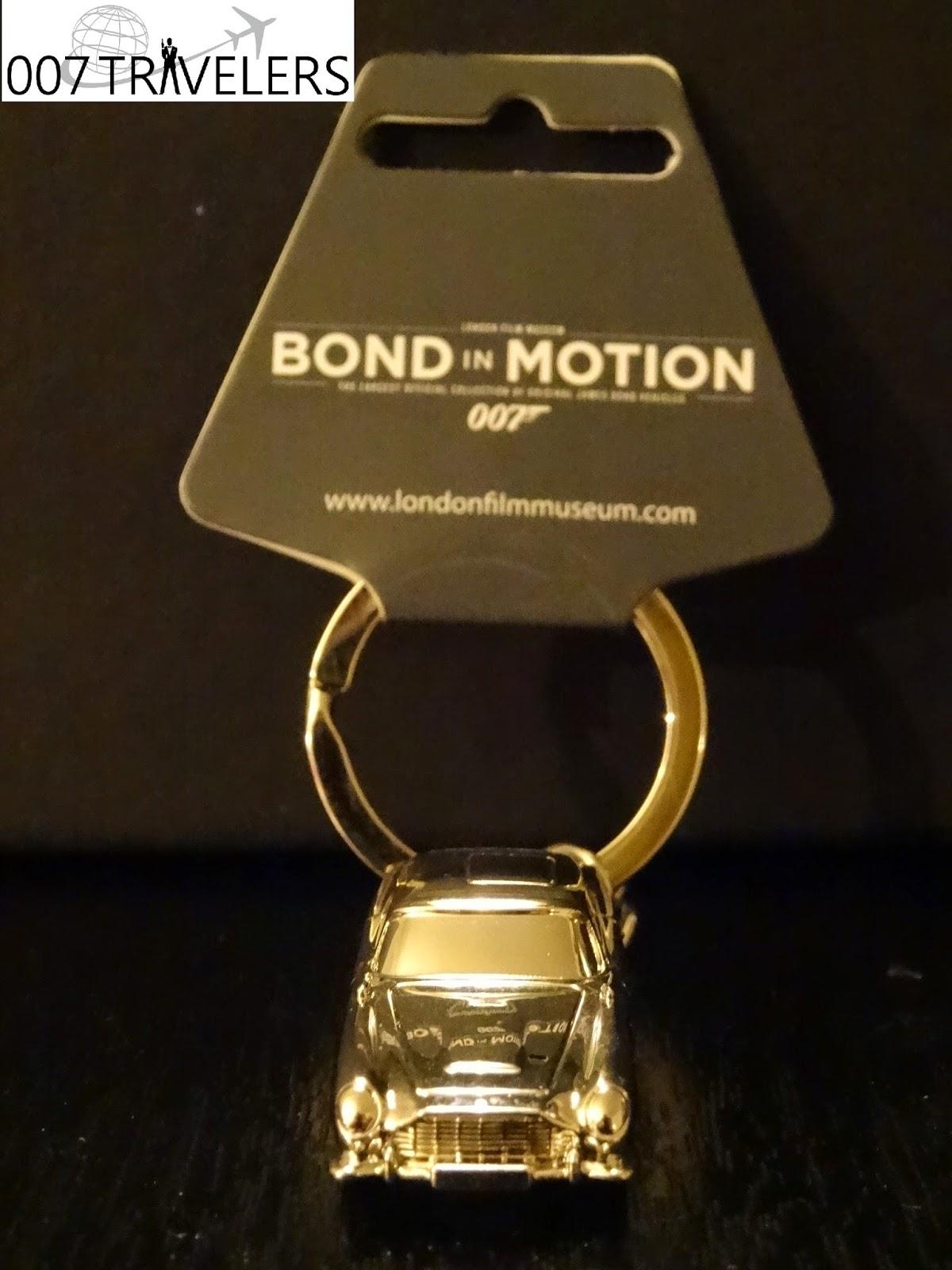 007 TRAVELERS 007 Item Bond in Motion 007 Aston Martin DB5 keyring