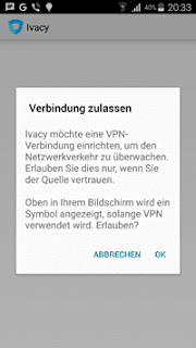 Ivacy VPN für Android screenshot