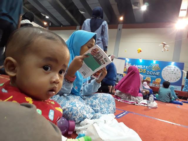 Family & Kids Zone Islamic Book Fair Jakarta