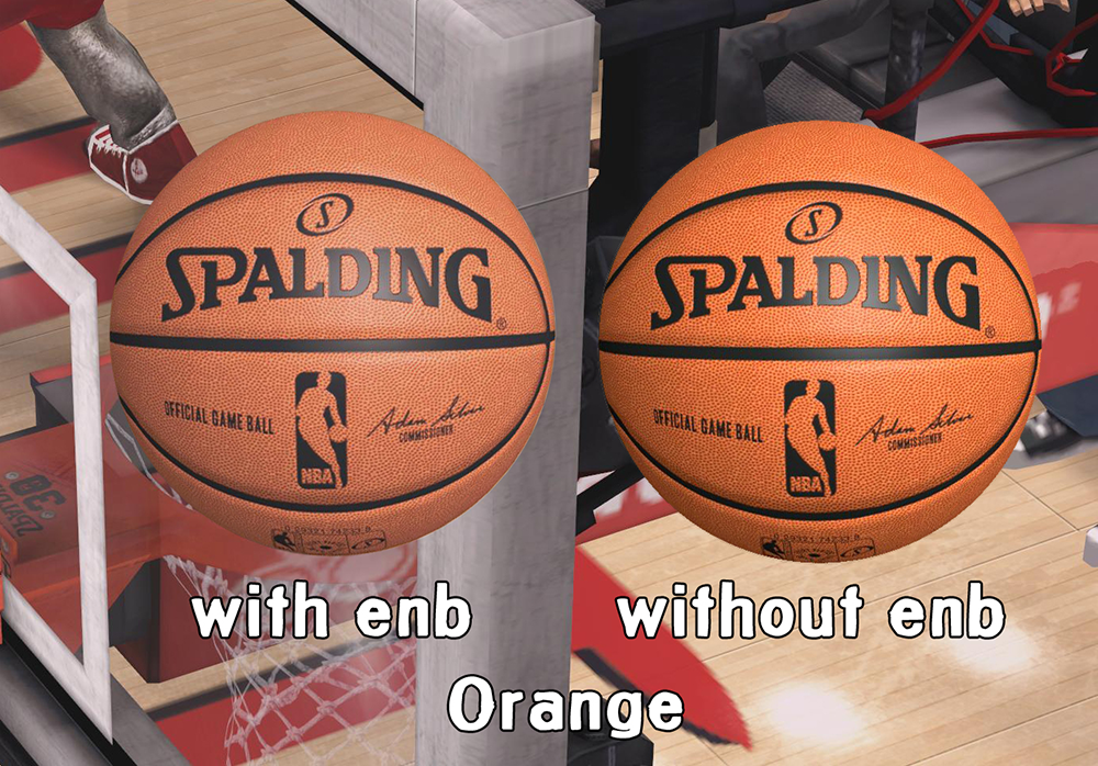 HD Spalding Ball Mod - Orange