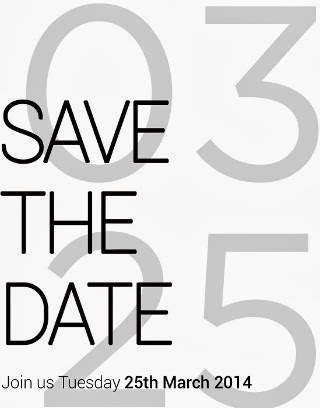 HTC One launch - save the date