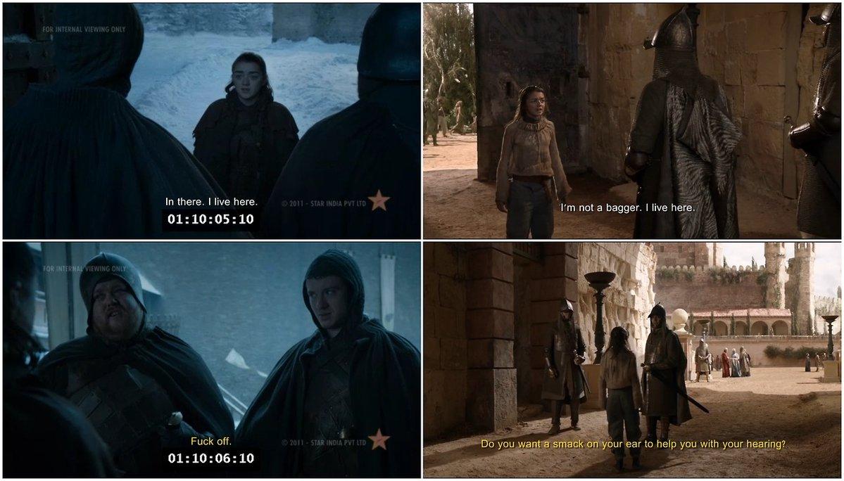 Uno de los puntos polémicos es la escena en la que Sansa ve a su hermana  luchar con Brienne (Gwendoline Christie), momento que he adorado hasta la  saciedad ...
