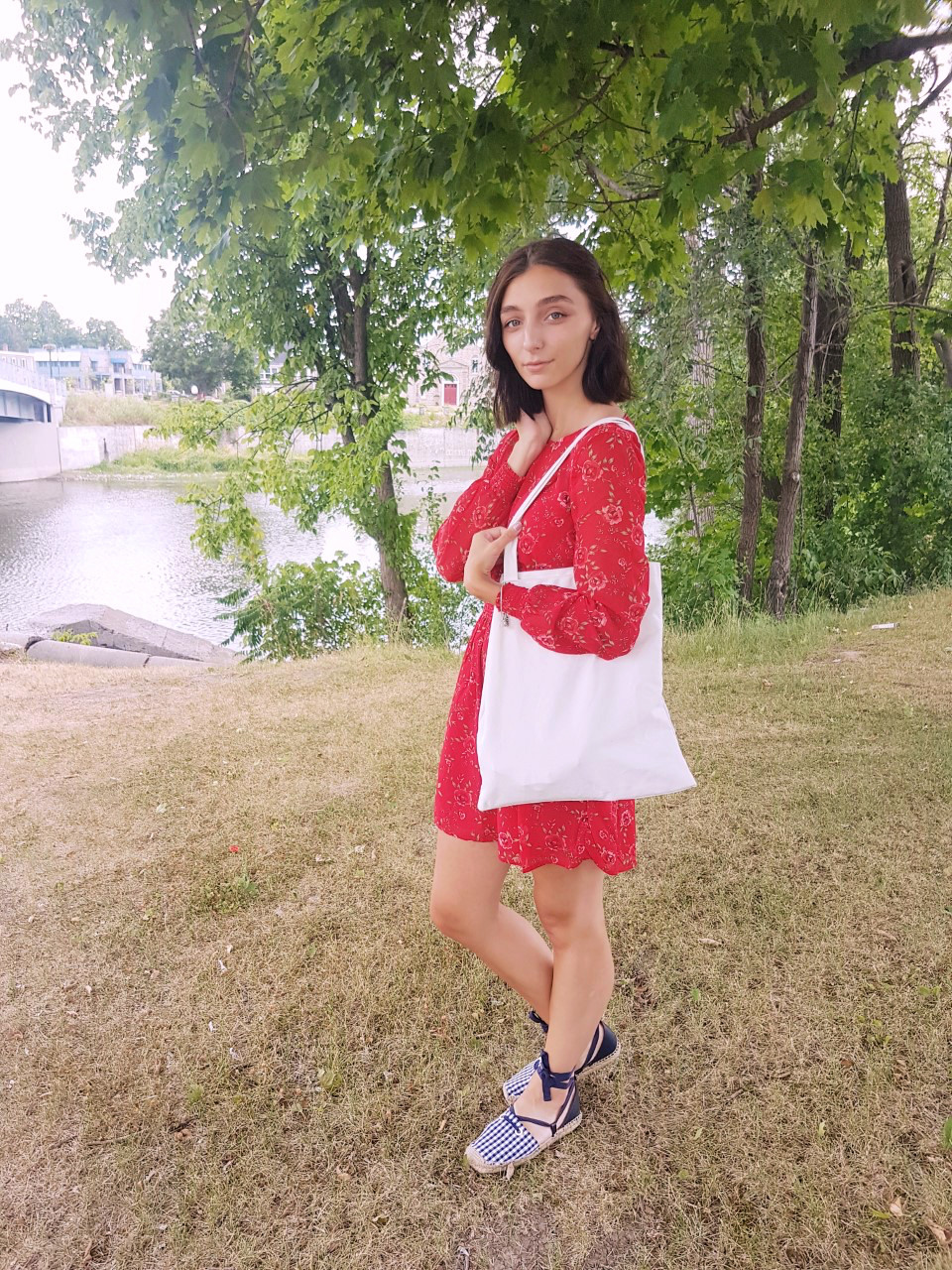 Dynamite Dress, Lifestyle, Summer, Street Style, Feminine, Dress, Sandals, Zara, Forever 21, Red Dress, Fashion, Beauty, Canadian Blogger, Montreal