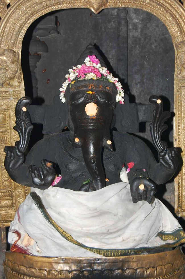 Lord Vinayaka Without Weapons