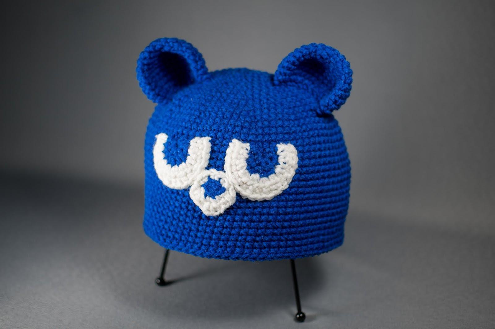 Cubby Bear Crochet Hat Free Pattern