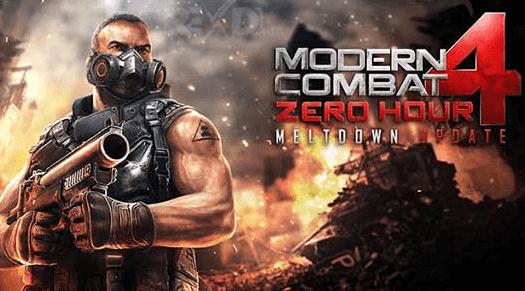 modern combat 4 mod apk offline