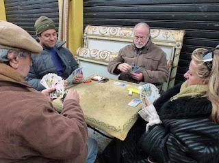 Jugadores de tarot franceses