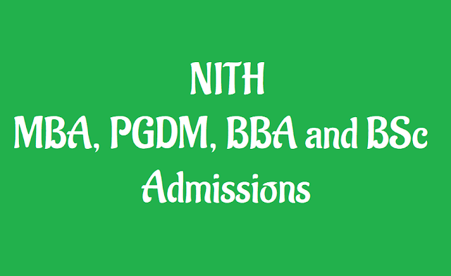 dr.ysr nith ug, pg programs admission 2019 notification,ug,pg tourism programs admission 2019 notification, ug, pg programs in tourism at dr.ysr national institute of tourism and hospitality management,hyderabad, course details,eligibility criteria, how to apply,online application, www.nithm.ac.in admissions