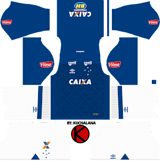 Cruzeiro 2017/18 - Dream League Soccer Kits