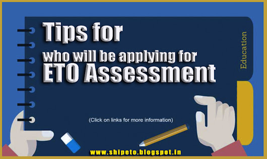 TIPS FOR WHO WILL BE APPLYING FOR ETO ASSESMENT - Electro Technical Officer